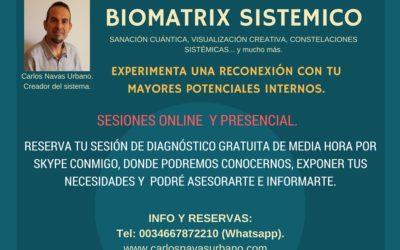 Diagnóstico online gratuito de 30 minutos. BioMatrix Sistémico.