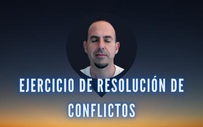 EJERCICIO PARA RESOLVER CONFLICTOS.